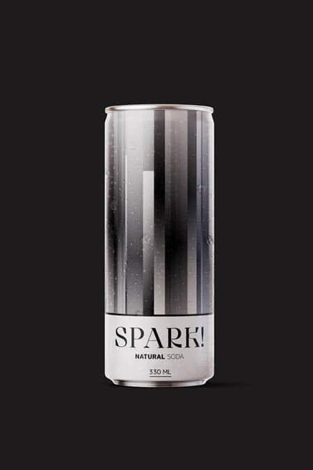 Spark! Probiotic sparkling beverage