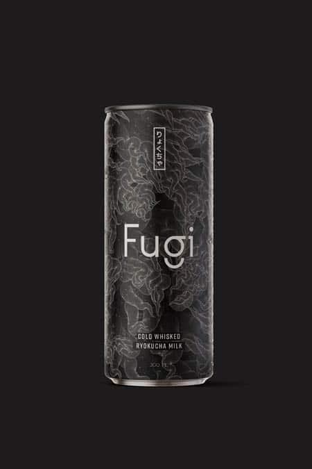 Fugi, cold whisked tea milk
