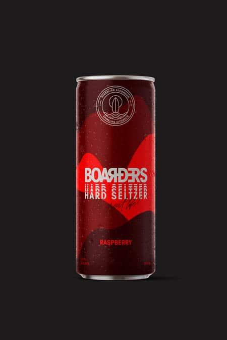 Boarders, hard seltzer