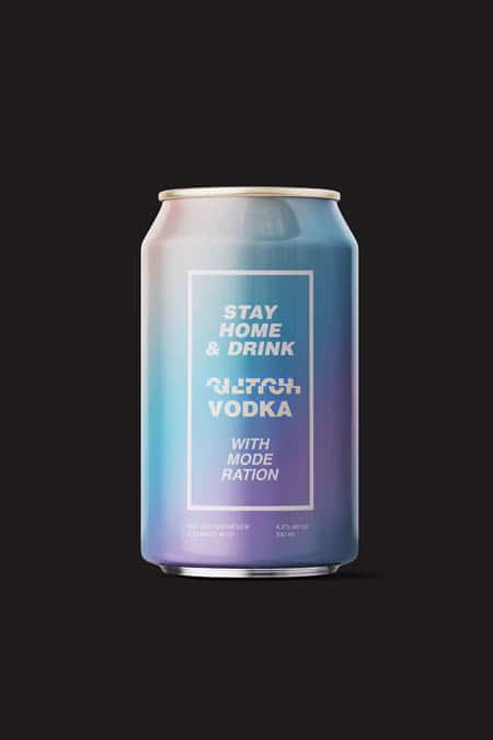 Stay Home with Glitch Vodka