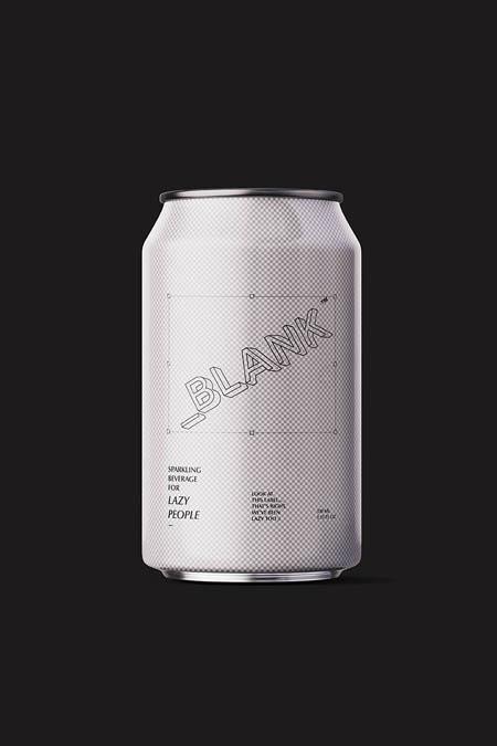 Sparkling beverage for lazy people