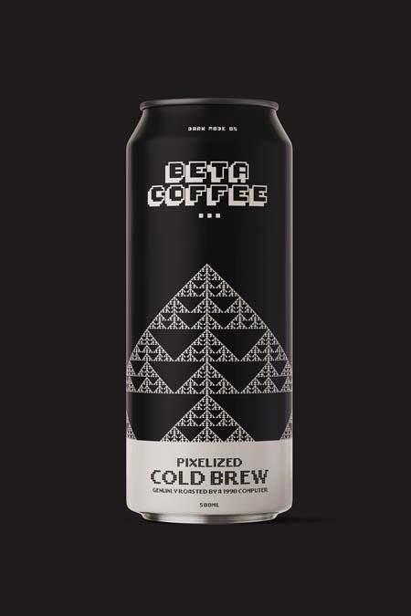 Pixelised cold brew