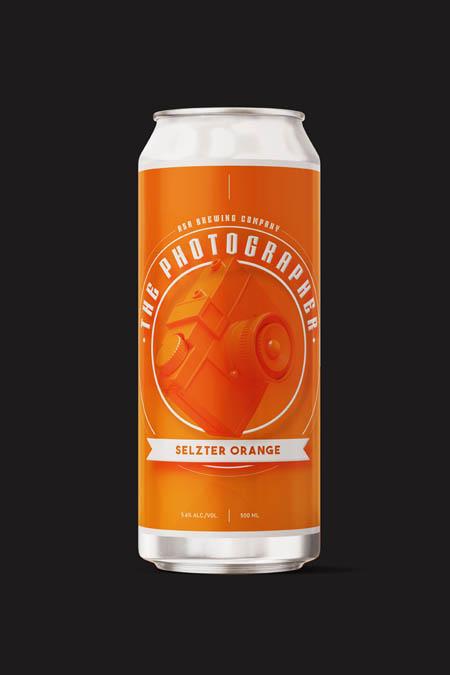 Seltzer Orange