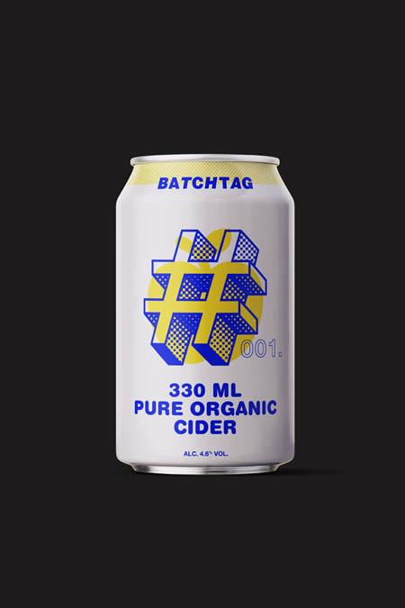 Pure organic cider, batch #001.