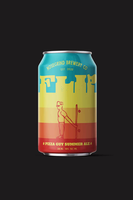 Pizza Guy summer ale