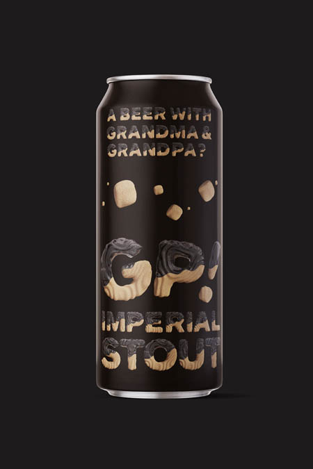 Imperial stout for tea time with grandma and grandpa.