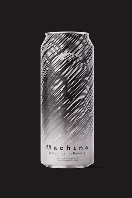 Spirit of the future. Hi-data fluid vodka.