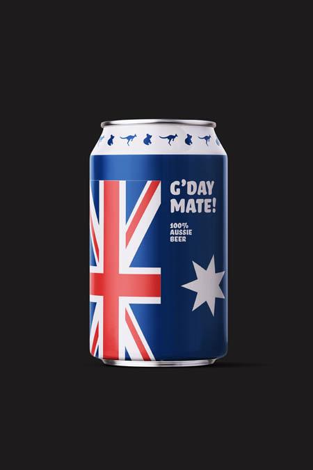 100% aussie beer