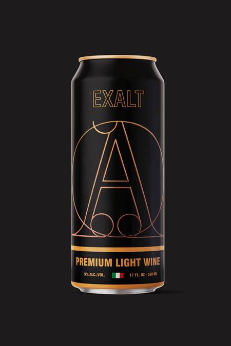 Premium light wine from Italy.