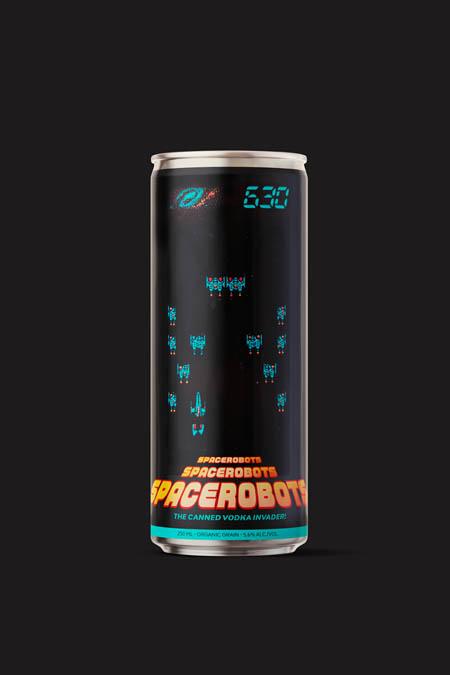 The canned vodka invader!