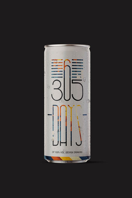 365 days of 100% vol. pure design drinking